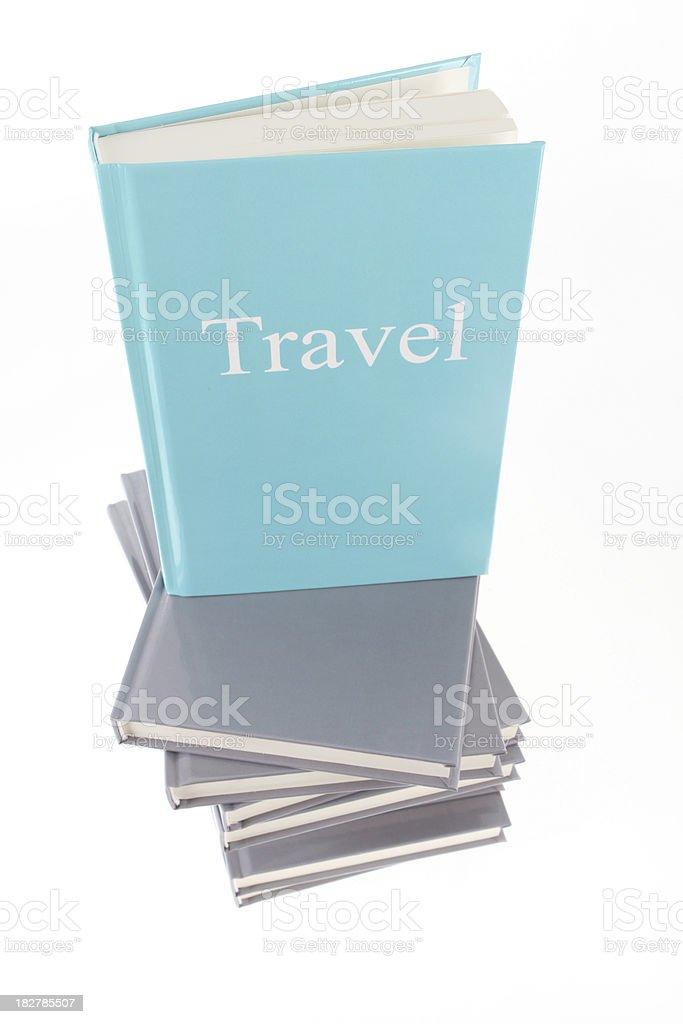 Travel Books royalty-free stock photo