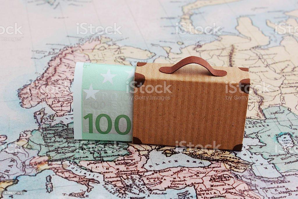Travel budget stock photo