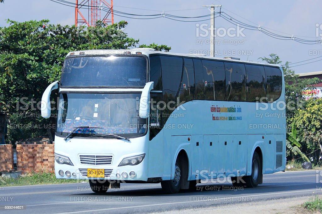 Travel bus stock photo