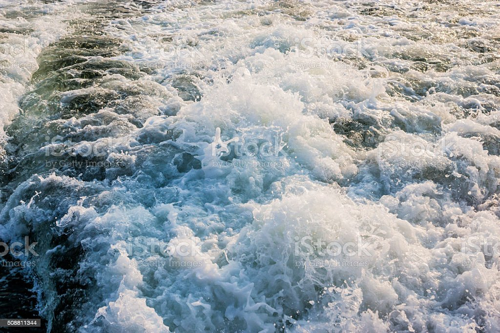 Travel by sea vessel stock photo