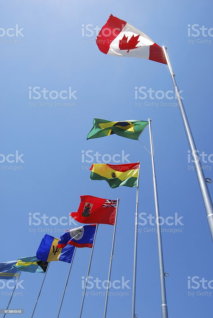 Travel by The Americas royalty-free stock photo