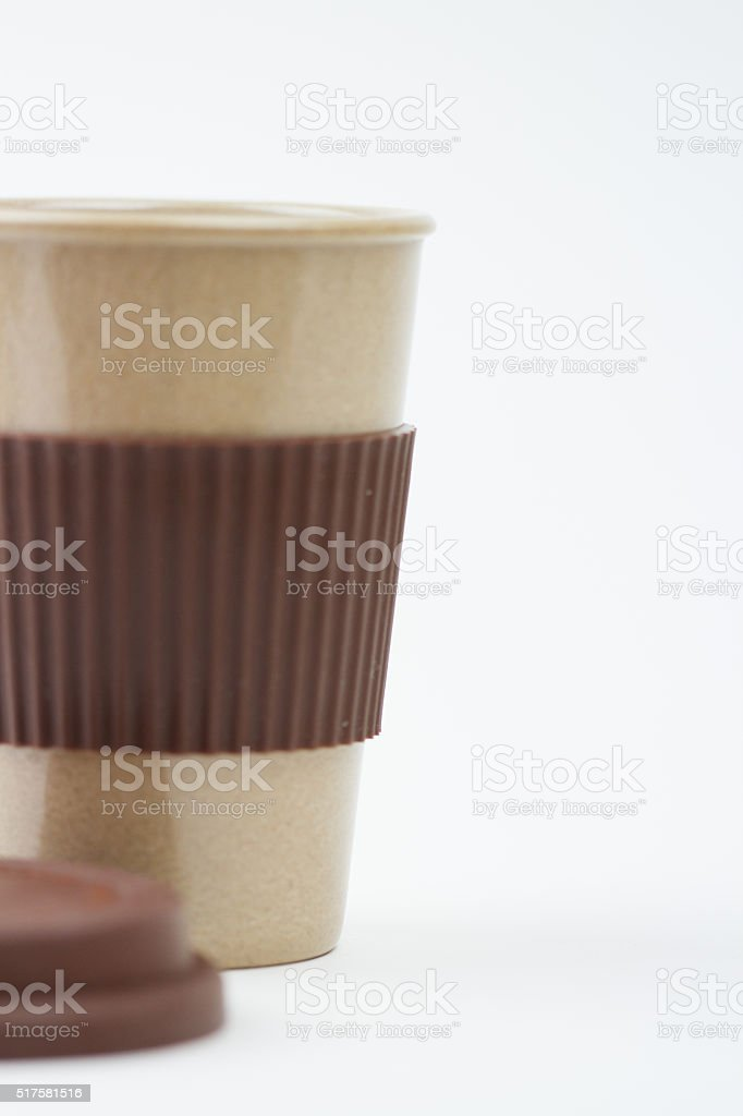 Travel Coffee Mug stock photo
