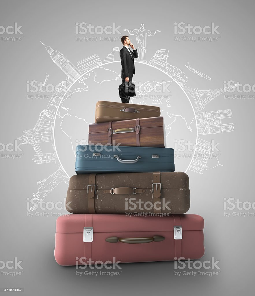 travel concept royalty-free stock photo