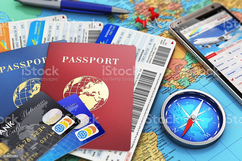 Travel concept stock photo