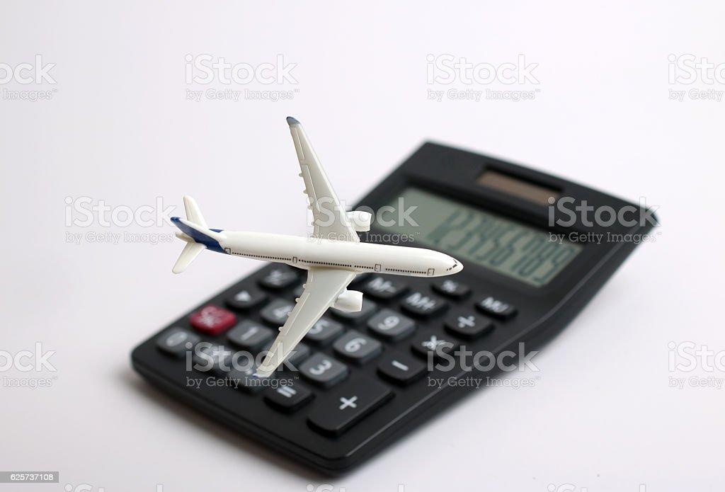 Travel Cost stock photo