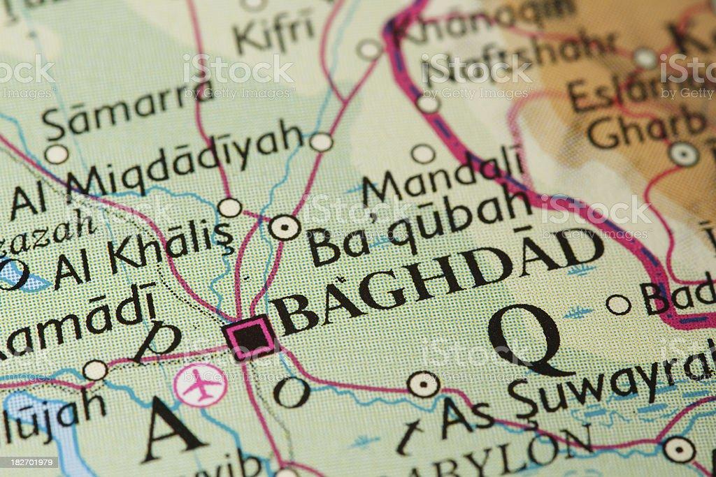 Travel Destination: Baghdad stock photo