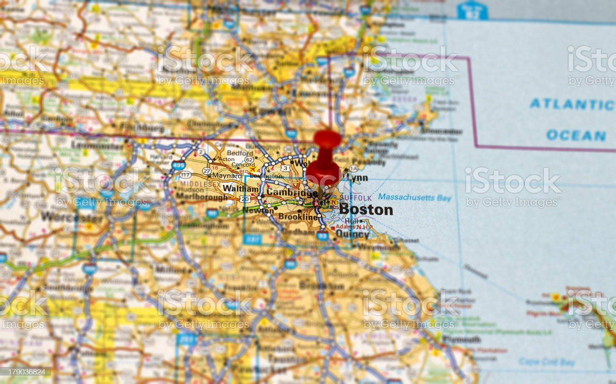 Travel destination - Boston royalty-free stock photo