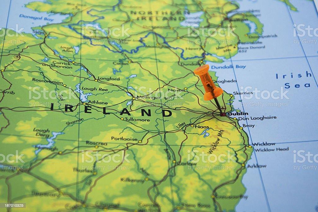 Travel Destination Dublin Ireland royalty-free stock photo