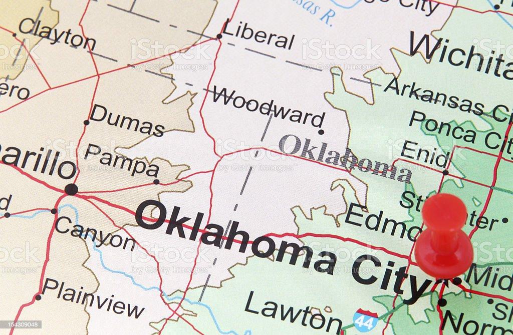 Travel Destination Oklahoma City royalty-free stock photo