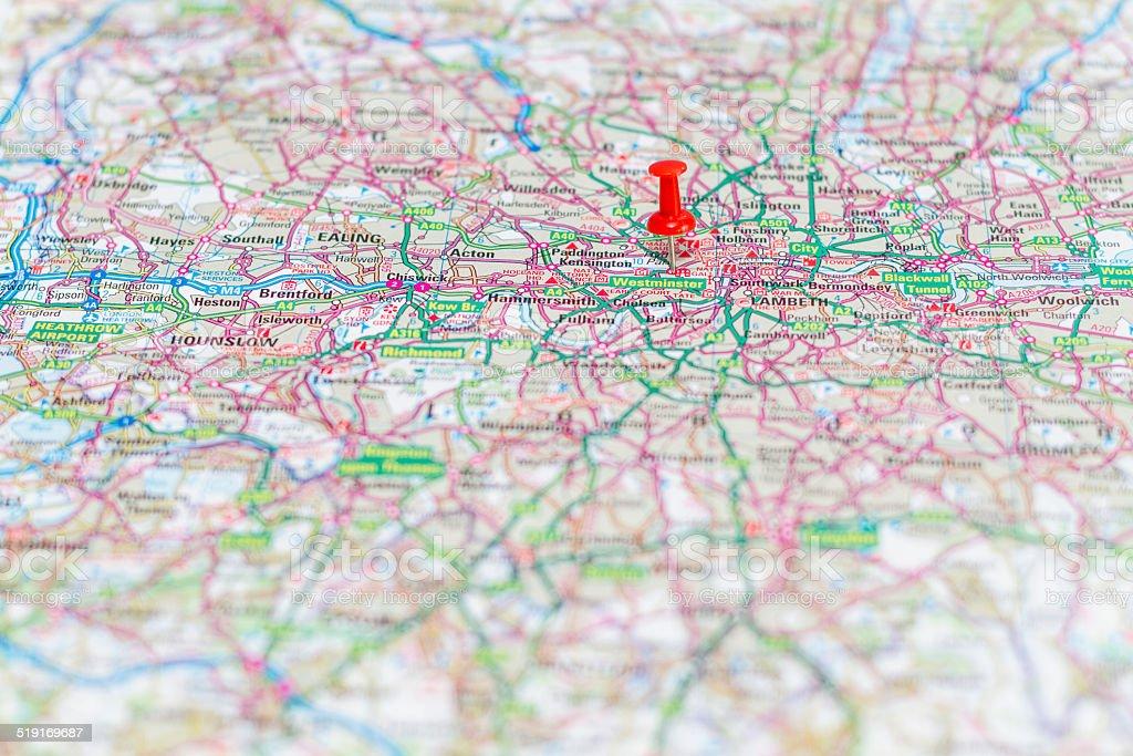 Travel destination - Westminster stock photo