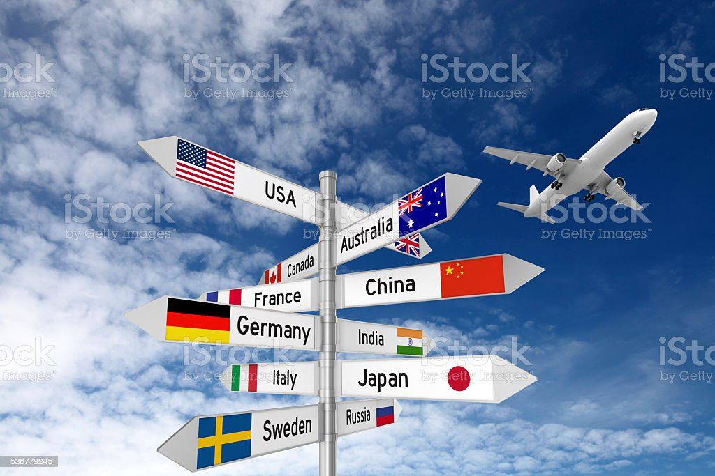 Travel Destinations stock photo