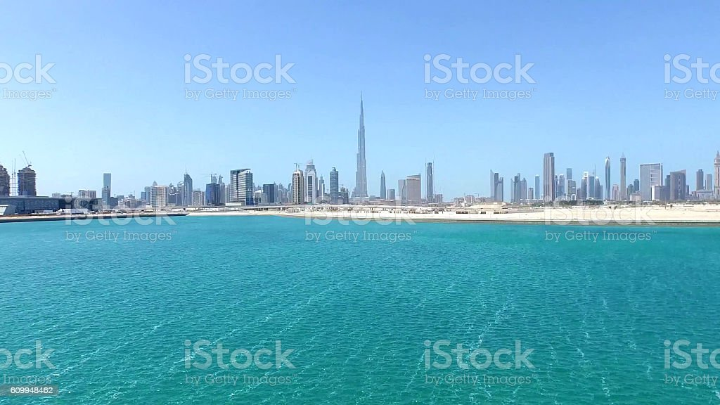 travel Dubai stock photo