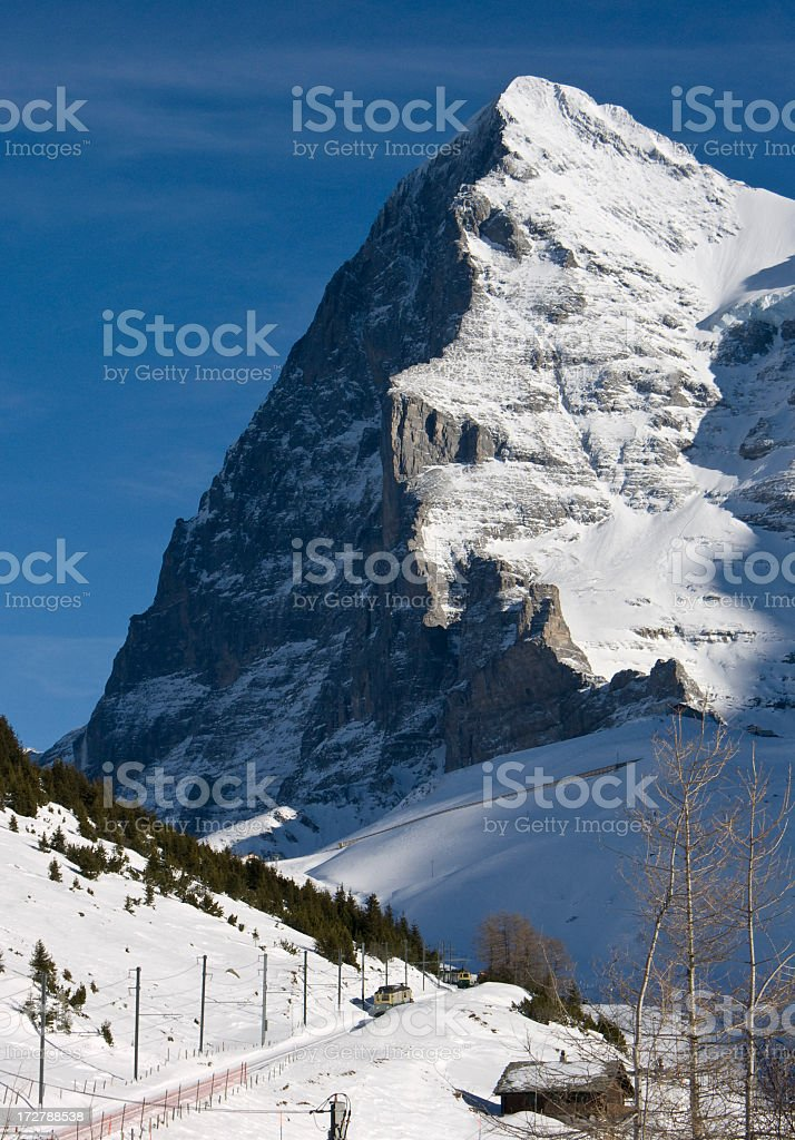 Travel; Eiger North Face royalty-free stock photo