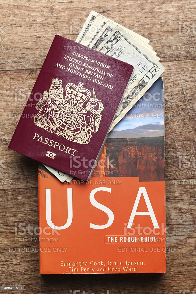 Travel guide - United States royalty-free stock photo