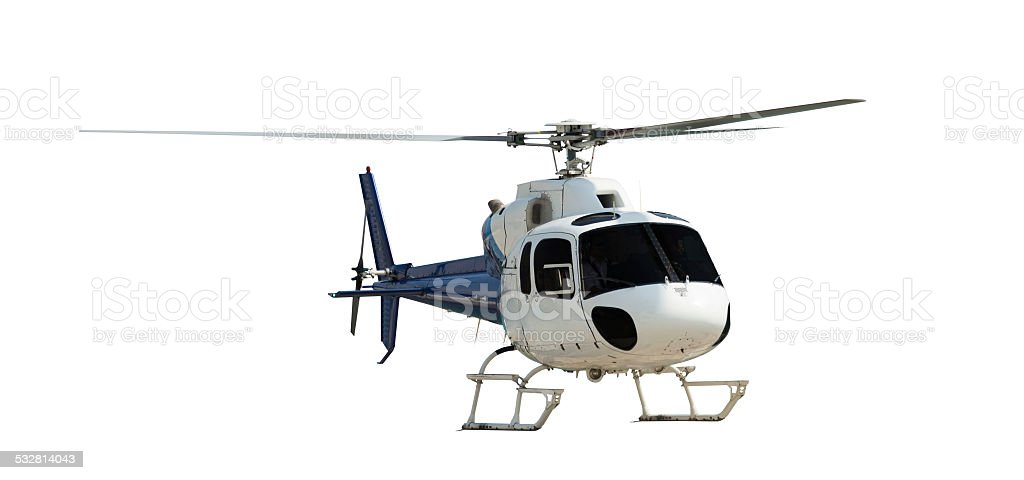 Travel helicopter stock photo