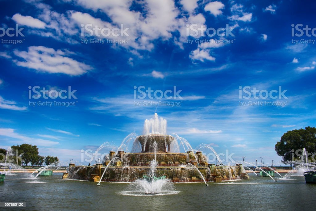 Travel in Chicago stock photo