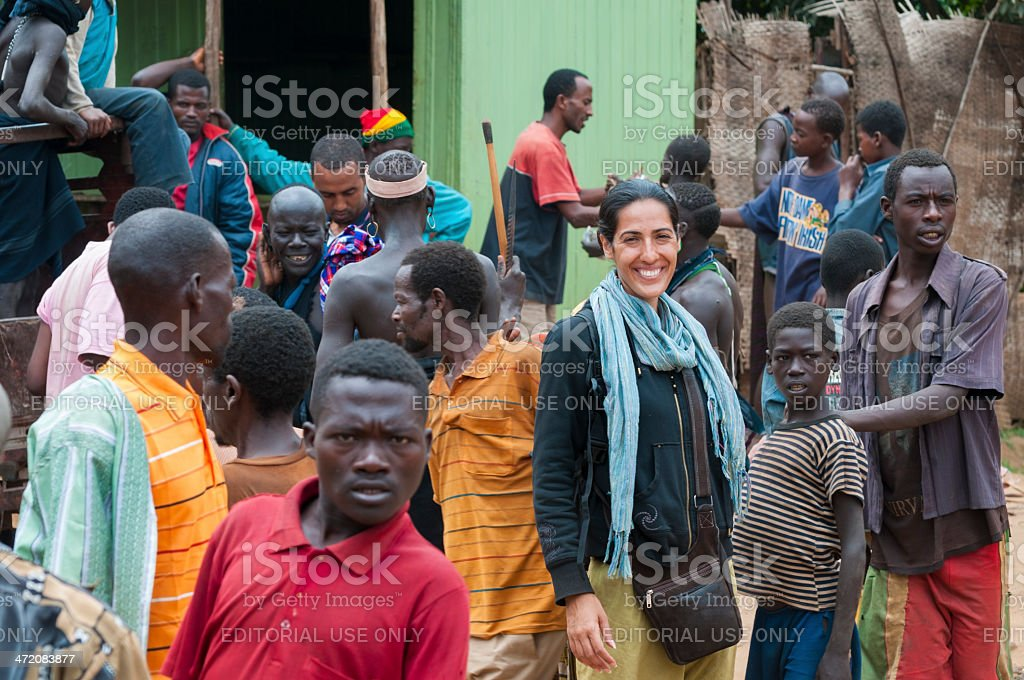 Travel in Ethiopia royalty-free stock photo