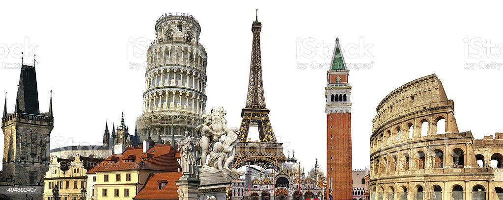 travel in Europe royalty-free stock photo