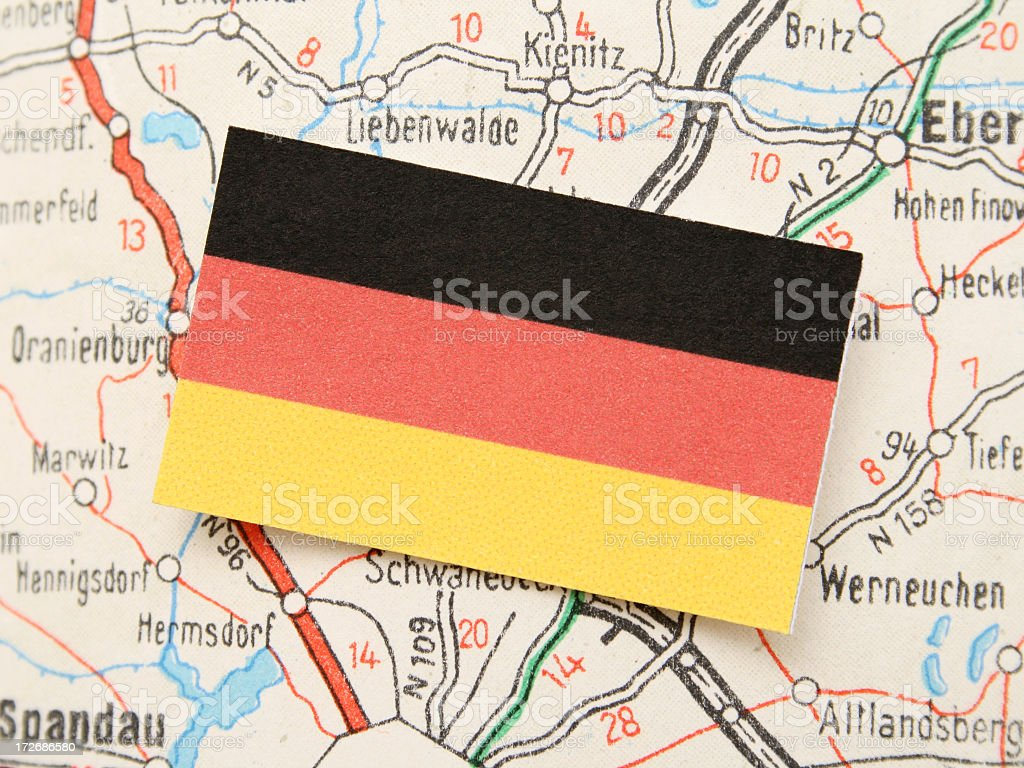 Travel in Germany royalty-free stock photo