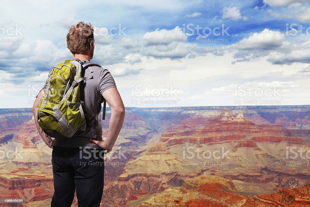 Travel in Grand Canyon stock photo