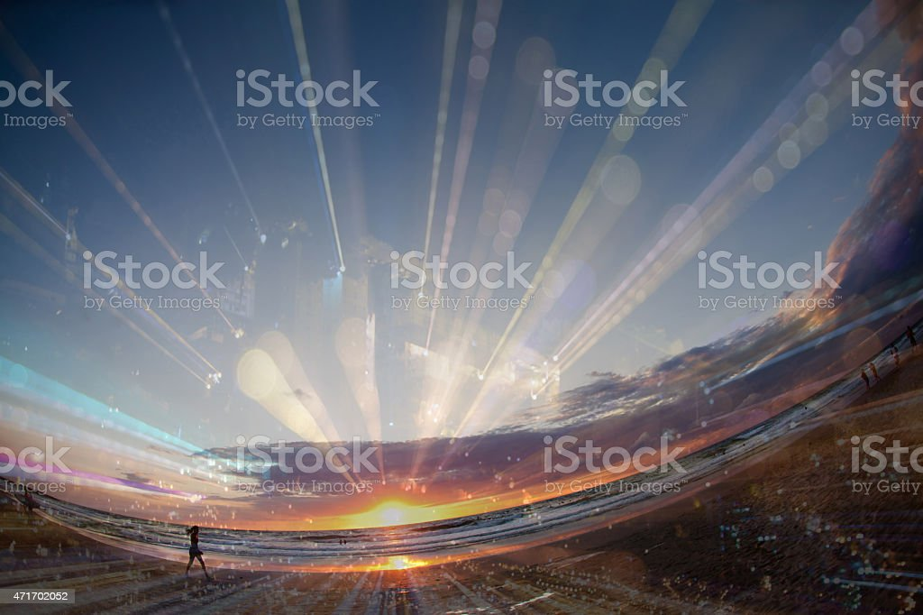 Travel in Time stock photo