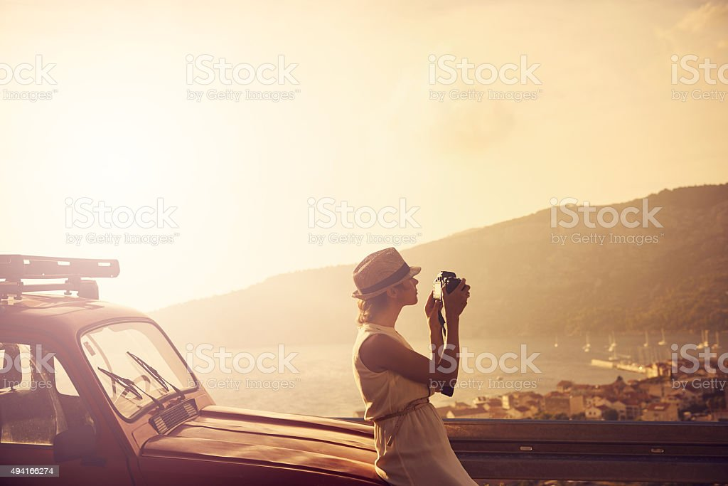Travel is the ultimate inspiration stock photo