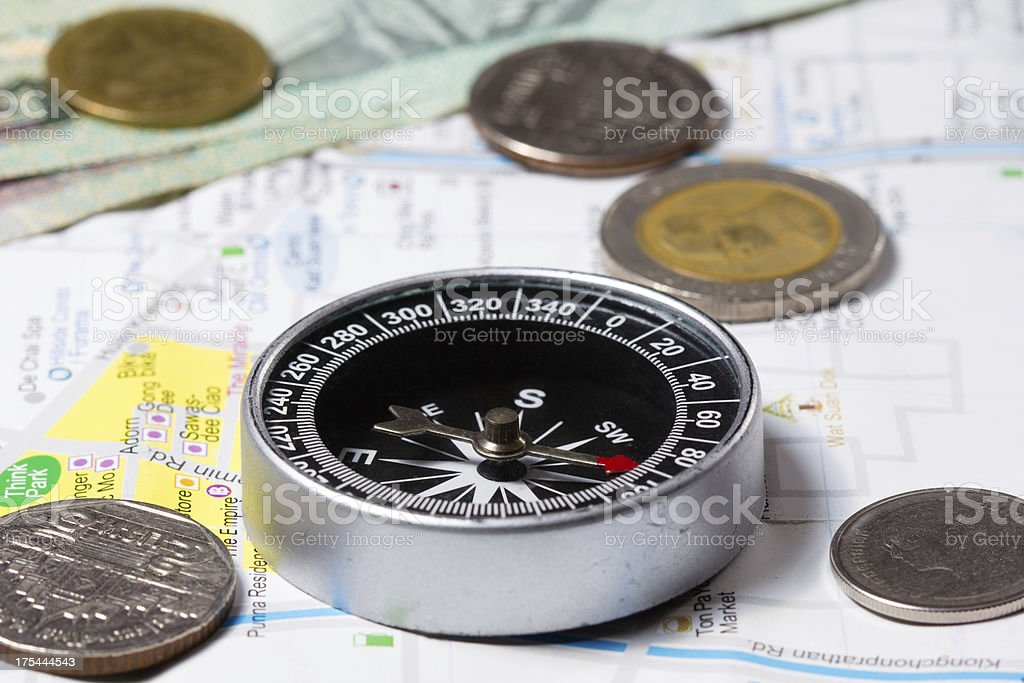 Travel Items royalty-free stock photo