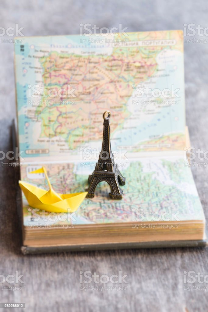 travel, journey, sailing idea or vacation stock photo