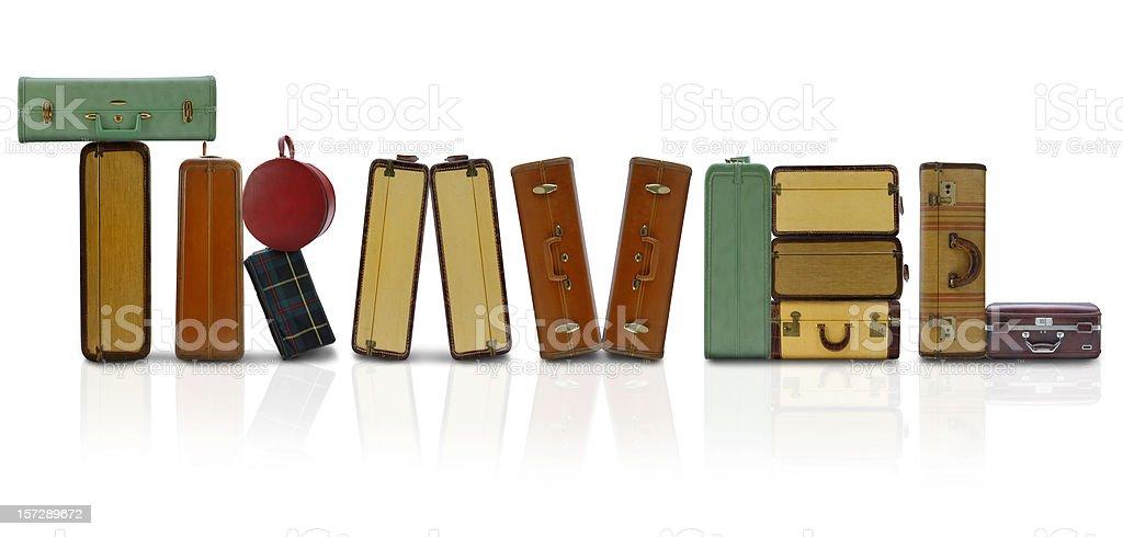 Travel Luggage royalty-free stock photo