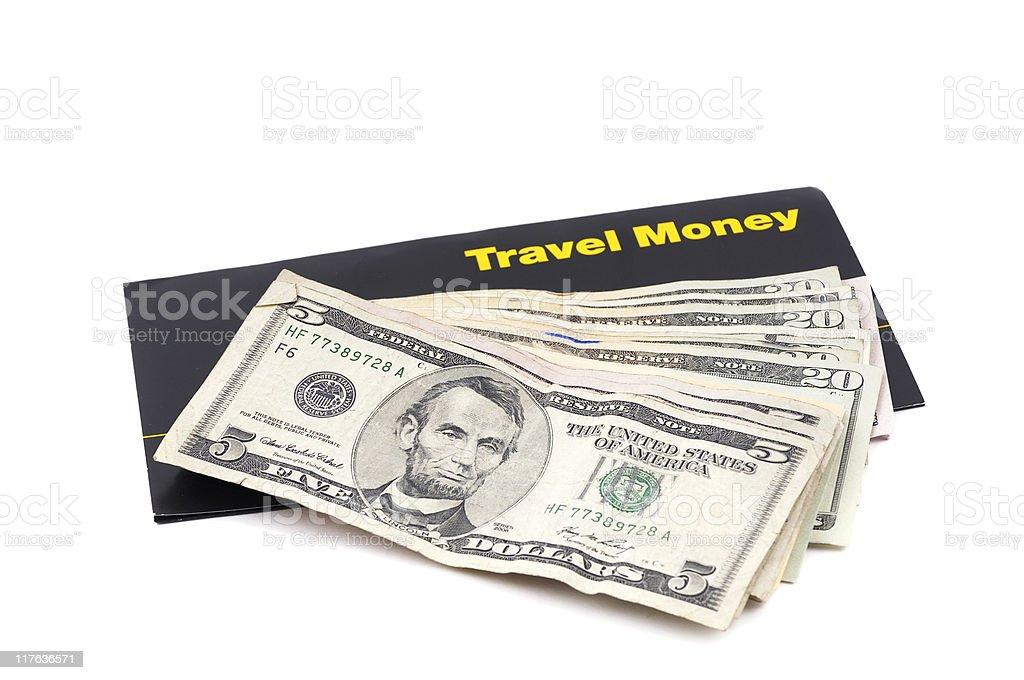 Travel Money royalty-free stock photo