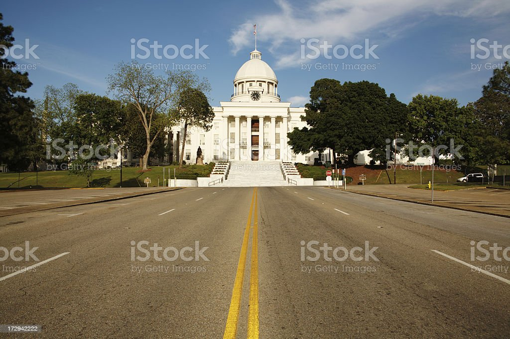 Travel Montgomery Alabama Capital stock photo