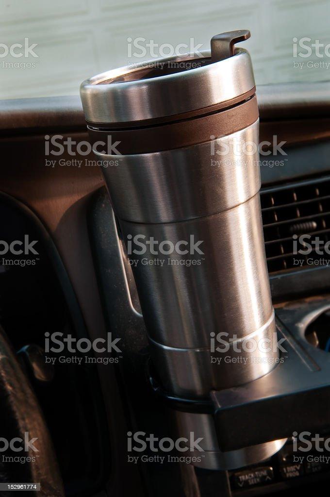 Travel Mug stock photo