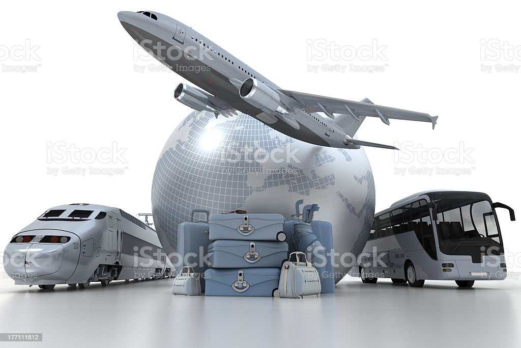 Travel options royalty-free stock photo