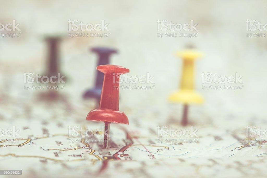 Travel organization stock photo