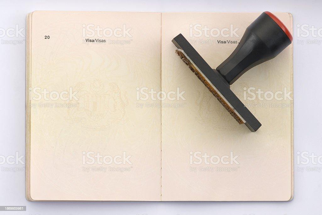 Travel Passport stock photo