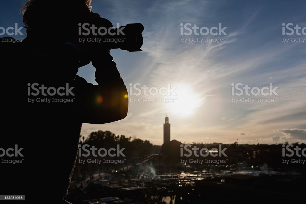 travel photographer stock photo