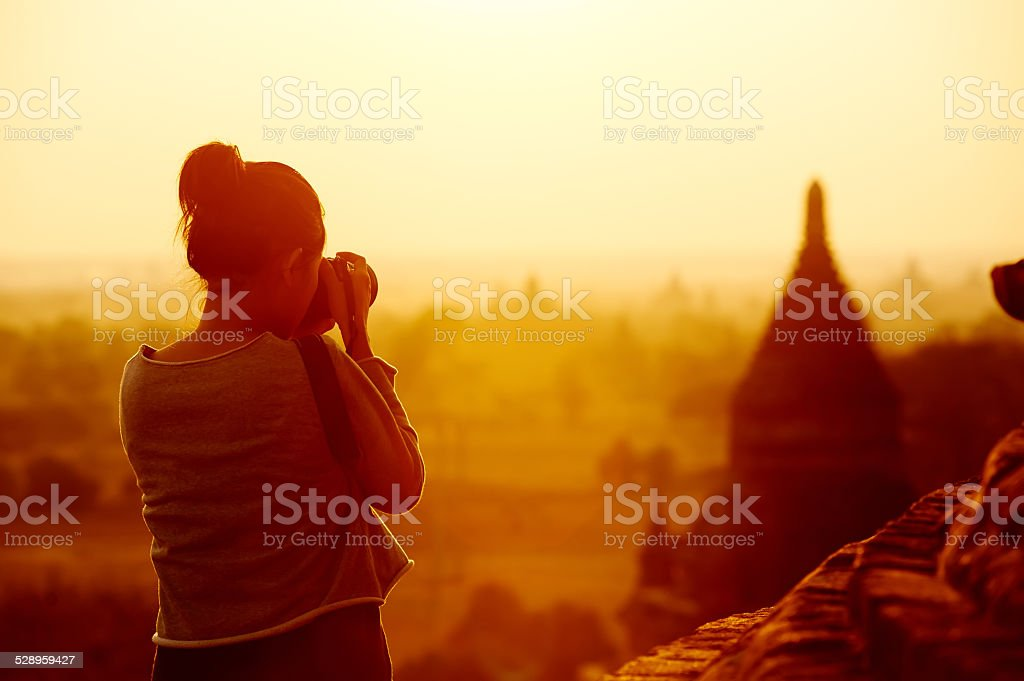 travel photography stock photo