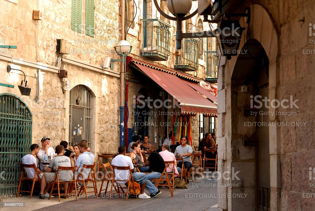 Travel Photos of Israel - Jerusalem stock photo