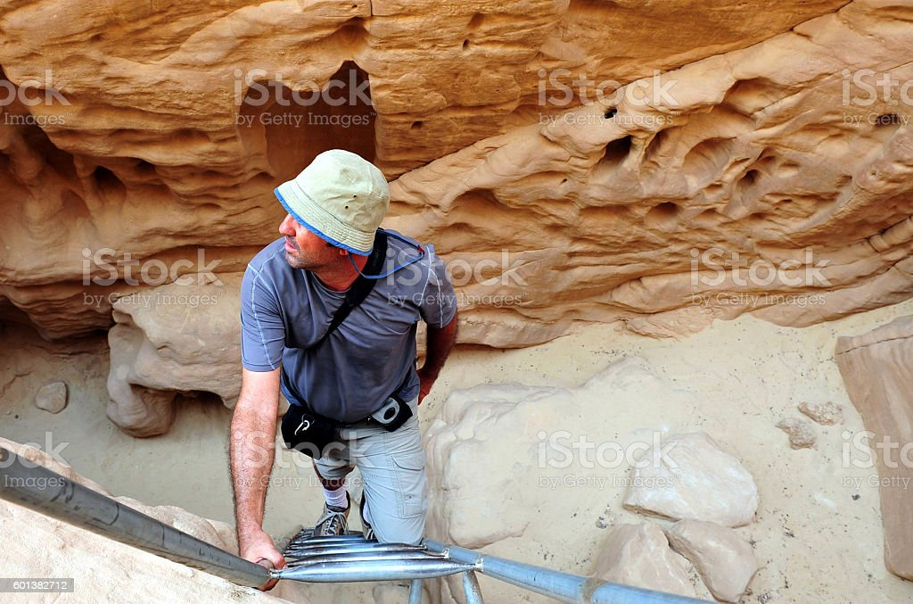 Travel Photos of Israel -Timna Park and King Solomon's Mines stock photo