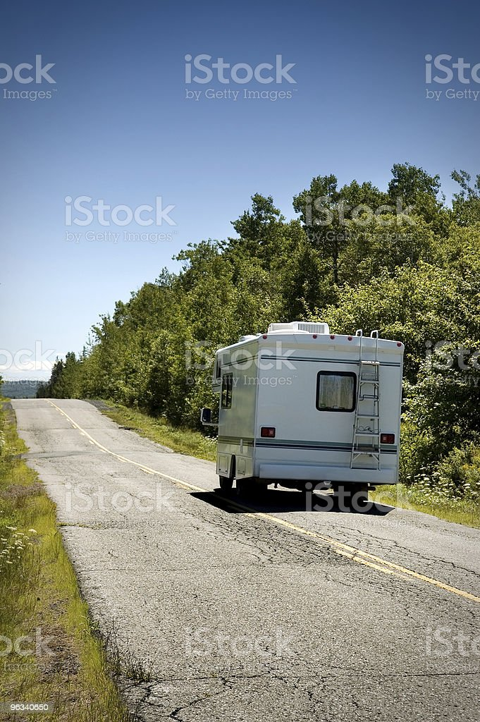 RV Travel royalty-free stock photo