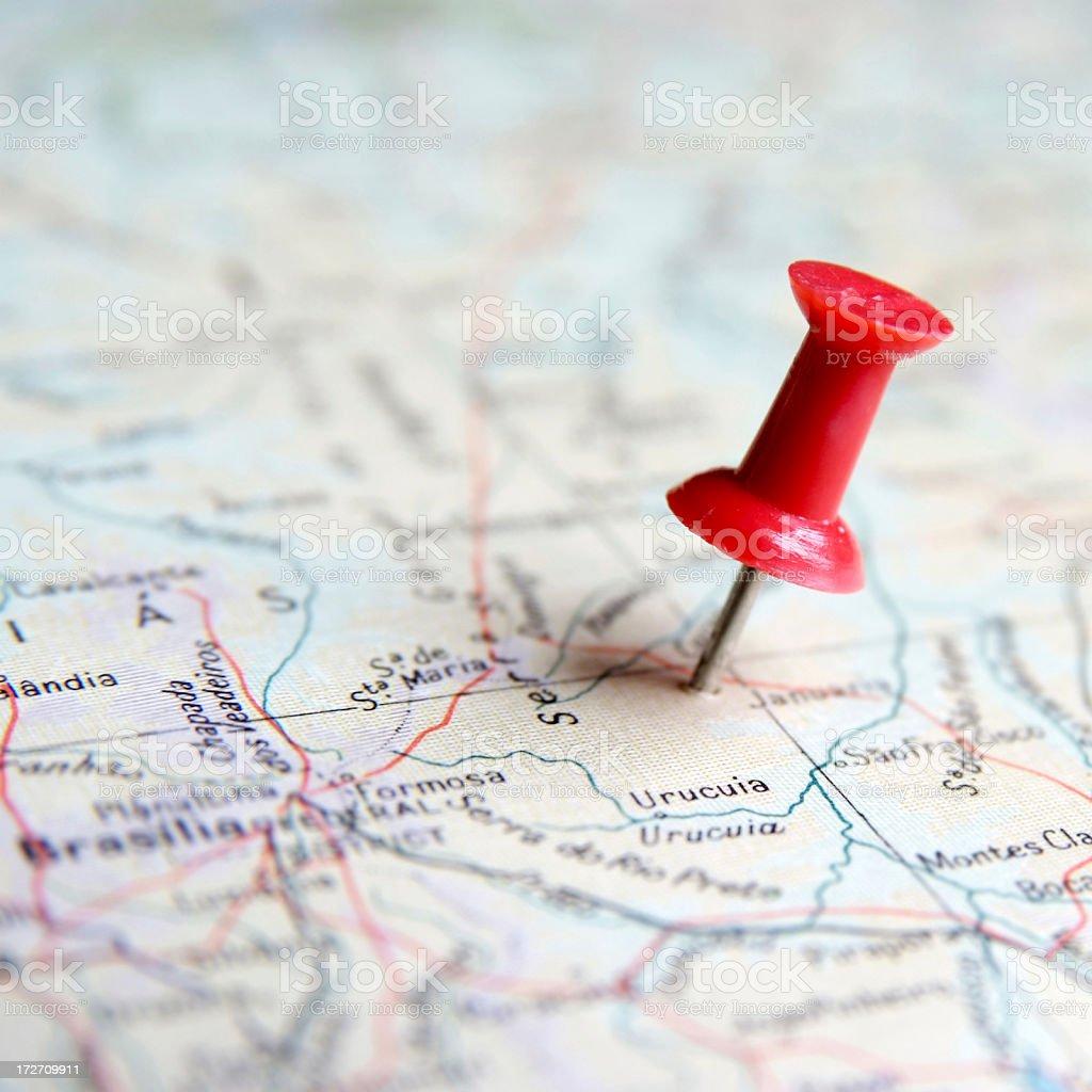 Travel plans stock photo