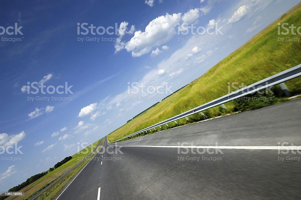 Travel road royalty-free stock photo