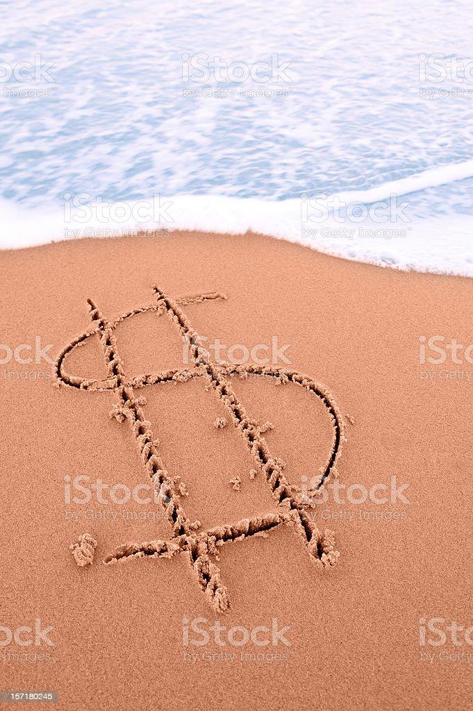 Travel Savings royalty-free stock photo