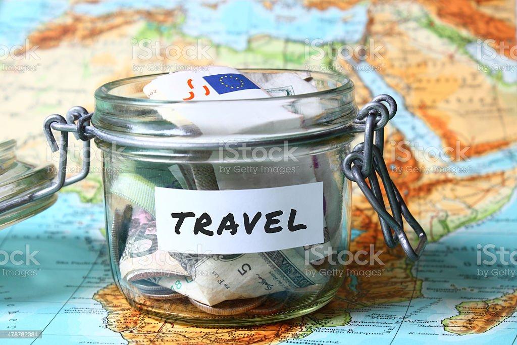 Travel savings stock photo