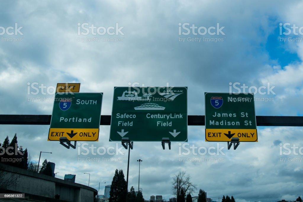 Travel Seattle stock photo
