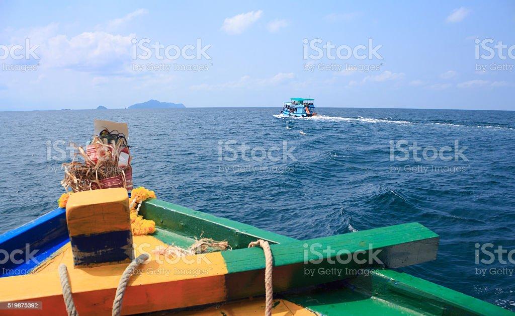 путешествия Отправляйте на море и остров Стоковые фото Стоковая фотография