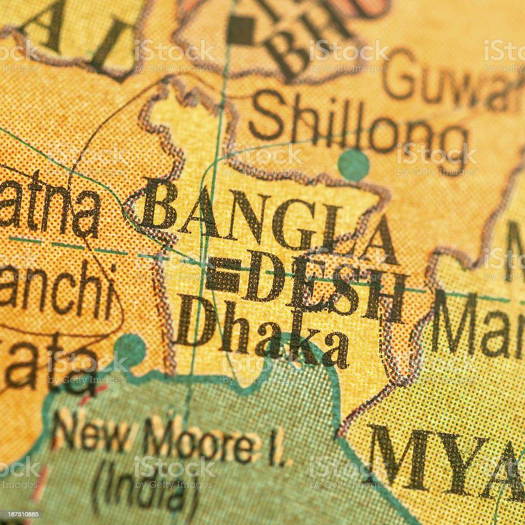Travel The Globe Series - Bangladesh royalty-free stock photo