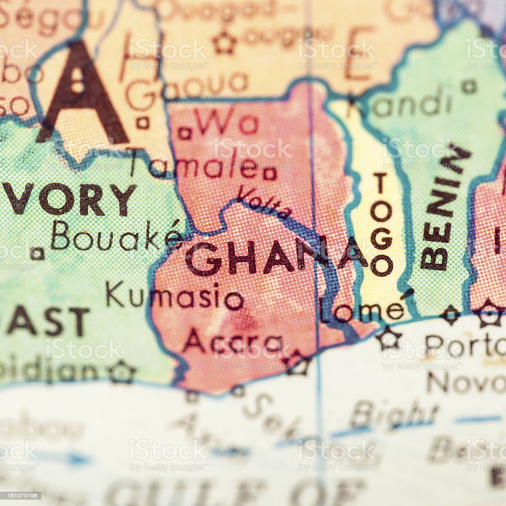 Travel The Globe Series - Ghana royalty-free stock photo