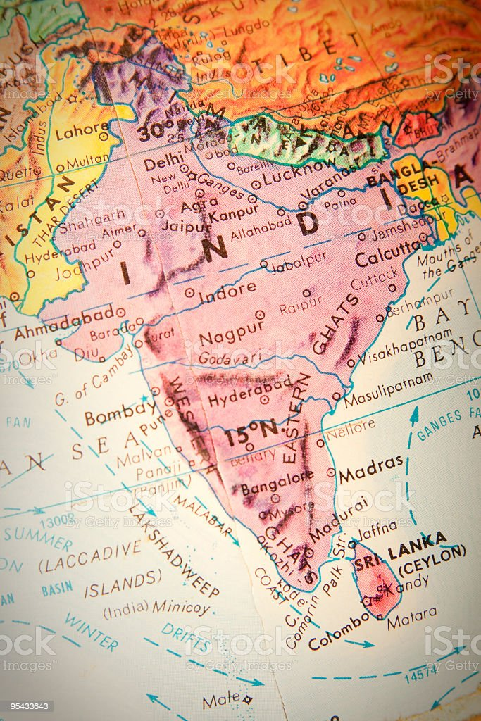 Travel the Globe Series - India stock photo
