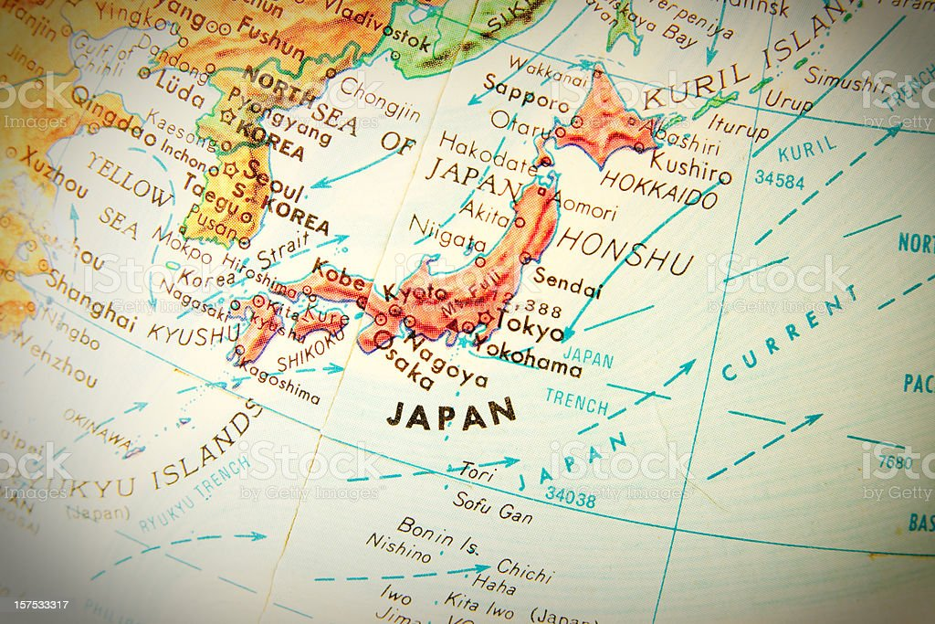 Travel the Globe Series - Japan royalty-free stock photo